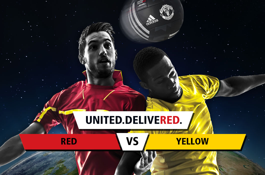 Team Red v Team Yellow