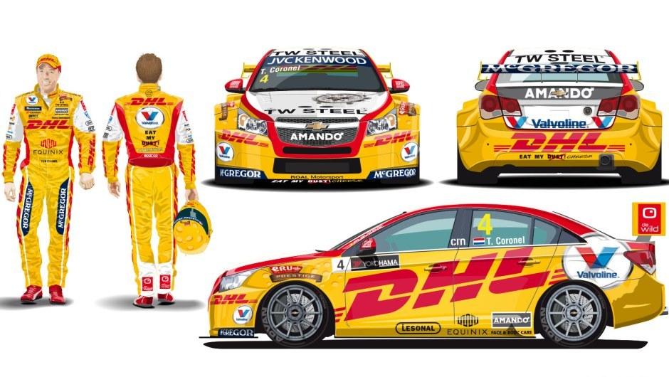 WTCC's Coronel goes yellow - DHL InMotion