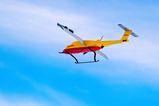 Successful trial integration of DHL Parcelcopter into logistics chain